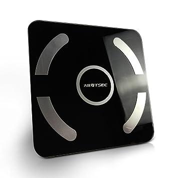 Heeecgoods Báscula de pesaje persona digital personalizada Báscula de escala precisa Bluetooth masa ecológica: Amazon.es: Hogar