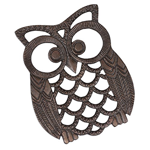 DII Cozy Iron Owl Trivet product image