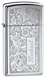 Personalized Etched Zippo Lighter with Free Engraving