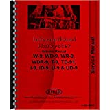 New McCormick Deering WR9 Tractor Service Manual