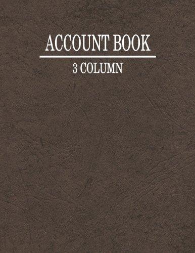3 Column Account Book pdf epub