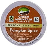 Green Mountain *LIMITED EDITION* Fair Trade PUMPKIN SPICE Flavored Coffee 1 Box of 24 K-Cups