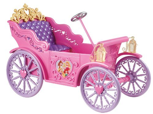 Mattel X9366 Disney Princess Vehicle, 6.25 X 13 X 10-Inches