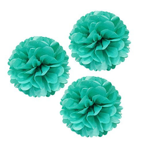 Wrapables Tissue Pom Poms Party Decorations for Weddings,...