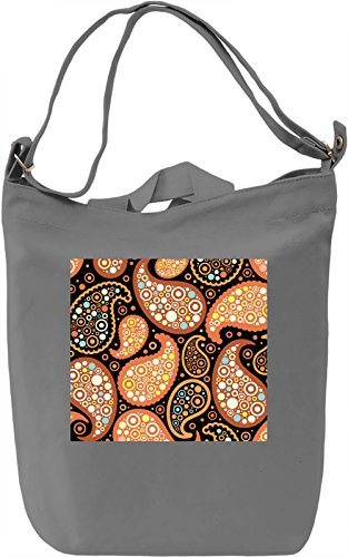 Colorful Pattern Borsa Giornaliera Canvas Canvas Day Bag| 100% Premium Cotton Canvas| DTG Printing|