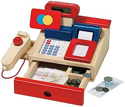 Caja Registradora para tienda Goki de madera con ...