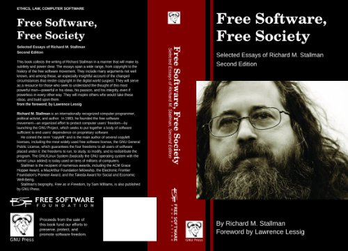 Free Software Free Society, 2nd Edition: Richard Stallman: 9780983159209: Amazon.com: Books