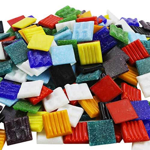 (BcPowr Mosaic Tiles - Bulk Mosaic Tile Assortment - 3/4
