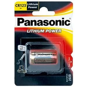Panasonic CR123A Photo Power Lithium battery 10 pcs., 1450mAh