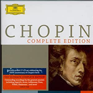 Chopin Complete Edition Box set Edition by Various Artists (2010) Audio CD
