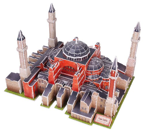 3D three-dimensional puzzle Hagia Sophia (japan import)