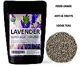 Lavender Flowers Super Blue Organic French (4 Oz)