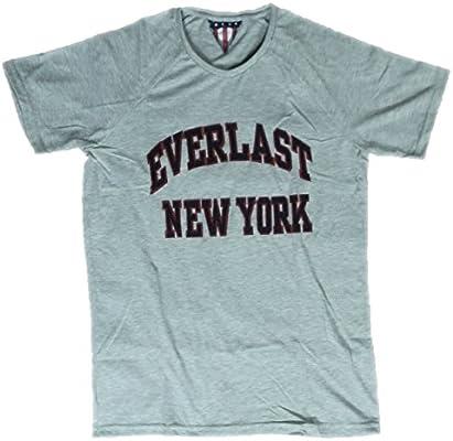 Everlast Camiseta Hombre Jersey 22 m218j73 gris melange (Grey ...