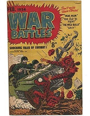 War Battles #17 1954 Australian Death By Jeep Cover