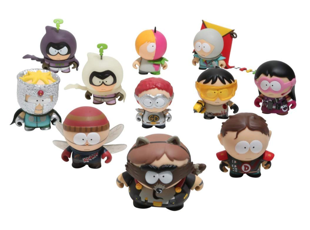 KIDROBOT SOUTH PARK HUMAN KITE KYLE THE FRACTURED BUT WHOLE DESIGNER TOY ART