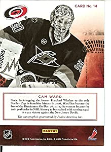 Hockey NHL 2011-12 Prime Signatures - gold #14 Cam Ward Auto 23/50 Hurricanes