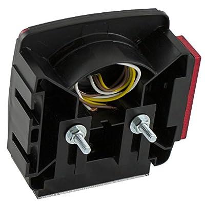 Blazer C7425 LED Square Trailer Light Kit with Integrated Back-Up Lights: Automotive