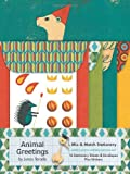 Animal Greetings Mix & Match Stationery