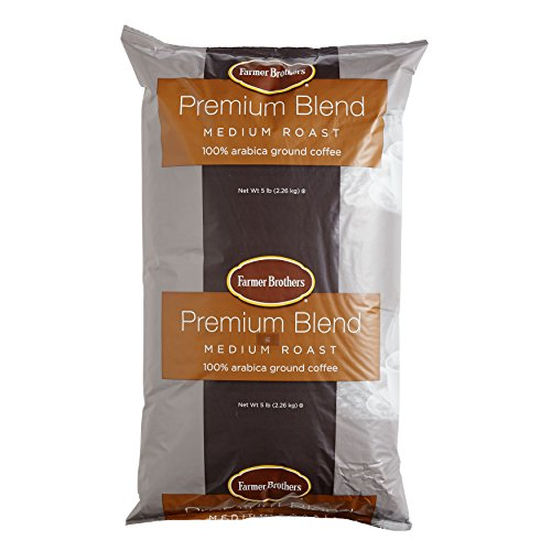 Farmer Brothers Premium Blend 100% Arabica Ground Coffee - 5 lb. Bag by Farmer Brothers