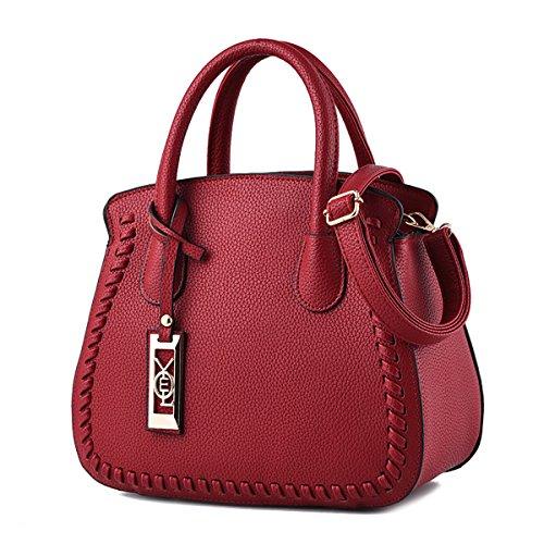 Cuir Sacs Main Sac Femmes Rosso Dames À Sdinaz En Bandoulière Ligne xpSwUq6F1x