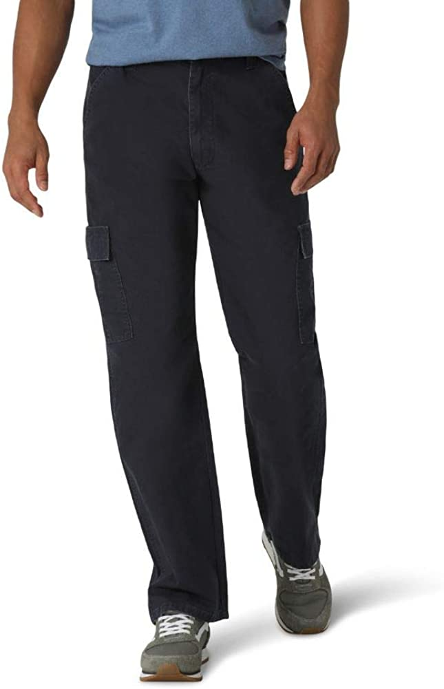 Wrangler Men's Classic Twill Relaxed Fit Cargo Pant