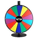 MegaBrand 18'' Tabletop Color Dry Erase Spinning Prize Wheel