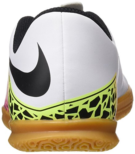 Nike Jr Hypervenom Phade Ii Ic, Zapatillas Para Niños Blanco (White / Black Total Orange Volt)