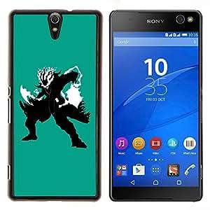 "For Sony Xperia C5 Ultra , S-type Guerrero de las sombras"" - Arte & diseño plástico duro Fundas Cover Cubre Hard Case Cover"