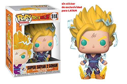 Funko Pop Animation: Dragon Ball Z - Super Saiyan 2 Gohan Collectible Figure, Multicolor ()