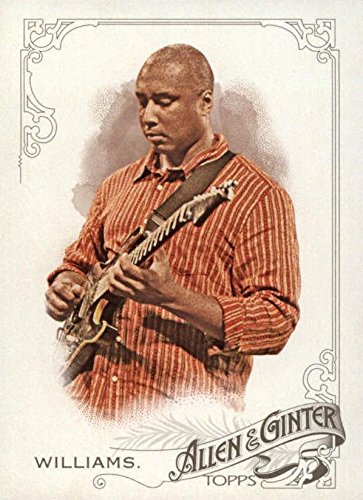 Bernie Williams baseball card (New York Yankees, Musician) 2015 Topps Allen & Ginters #177 -