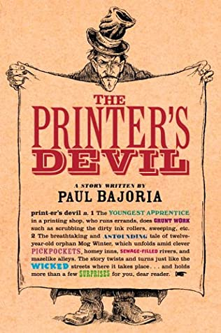 book cover of The Printer\'s Devil