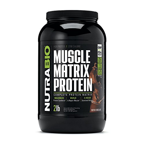 NutraBio Muscle Matrix Protein Chocolate