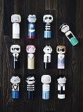 World-famous Artists - Kokeshi Japanese Dolls by