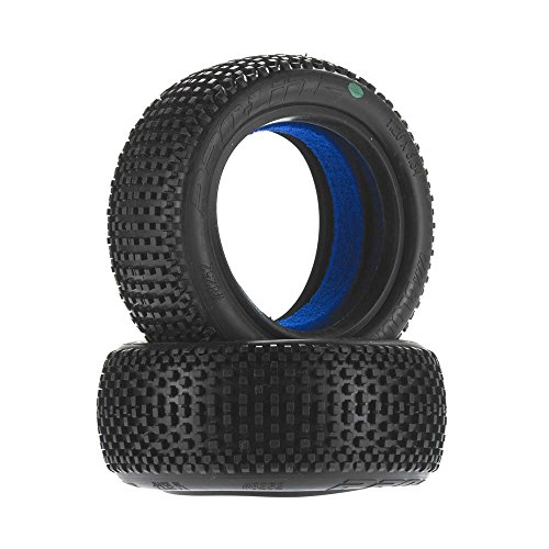 PROLINE 825202 Blockade 2.2 4Wd M3 (Soft) Off-Road Buggy Front Tires (2) with Closed Cell Foam