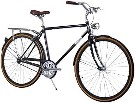 Zycle Fix Civic Men - Black Copper - Men City Series Single-Speed Urban Commuter Bike