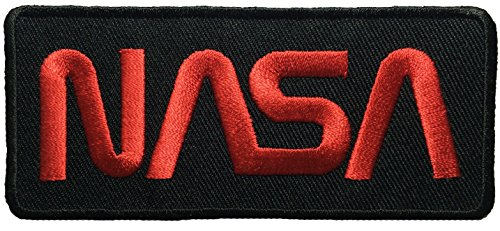 [Nasa Space Shuttle Vector Discovery Agency Houston USA Embroidered Appliques Hat Cap Polo Backpack Clothing Jacket Shirt DIY Sewing Iron On Costume Badge Logo Patch - Black] (Diy Aviator Costume)