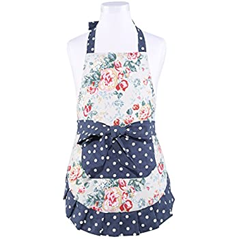 Clocks Power Source Energetic Fashion Canvas Sleeveless Apron Creative Fabric Home Daily Necessities Kitchen Apron