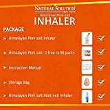 Himalayan Pink Salt Ceramic Salt Inhaler with Nasal inhaler