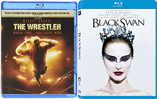 Black Swan & The Wrestler Blu Ray 2 Pack Darren Aronofsky Double Feature Movie Set
