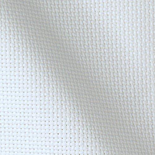 Cotton aida fabric for cross stitch fabric for embroidery white aida 14 cloth soft aida cloth white aida 14 count 14 count aida cloth
