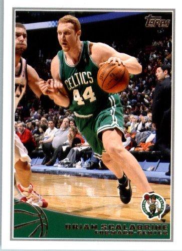 2009 Topps NBA Basketball Card (2009-10) IN SCREWDOWN CASE #21 Brian Scalabrine Mint ()