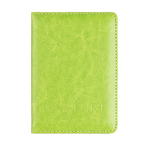 FORUU Bags, 2019 Summer Newest Arrival Holiday Party Beach Under 15 dollar Unisex Passport Holder Protector Wallet Business Card Soft Passport Cover Green