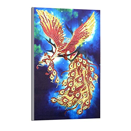 Heliovia Special Shaped DIY Diamond Painting Cross Stitch Kits Part Diamond Embroidery Home Wall Decoretion]()