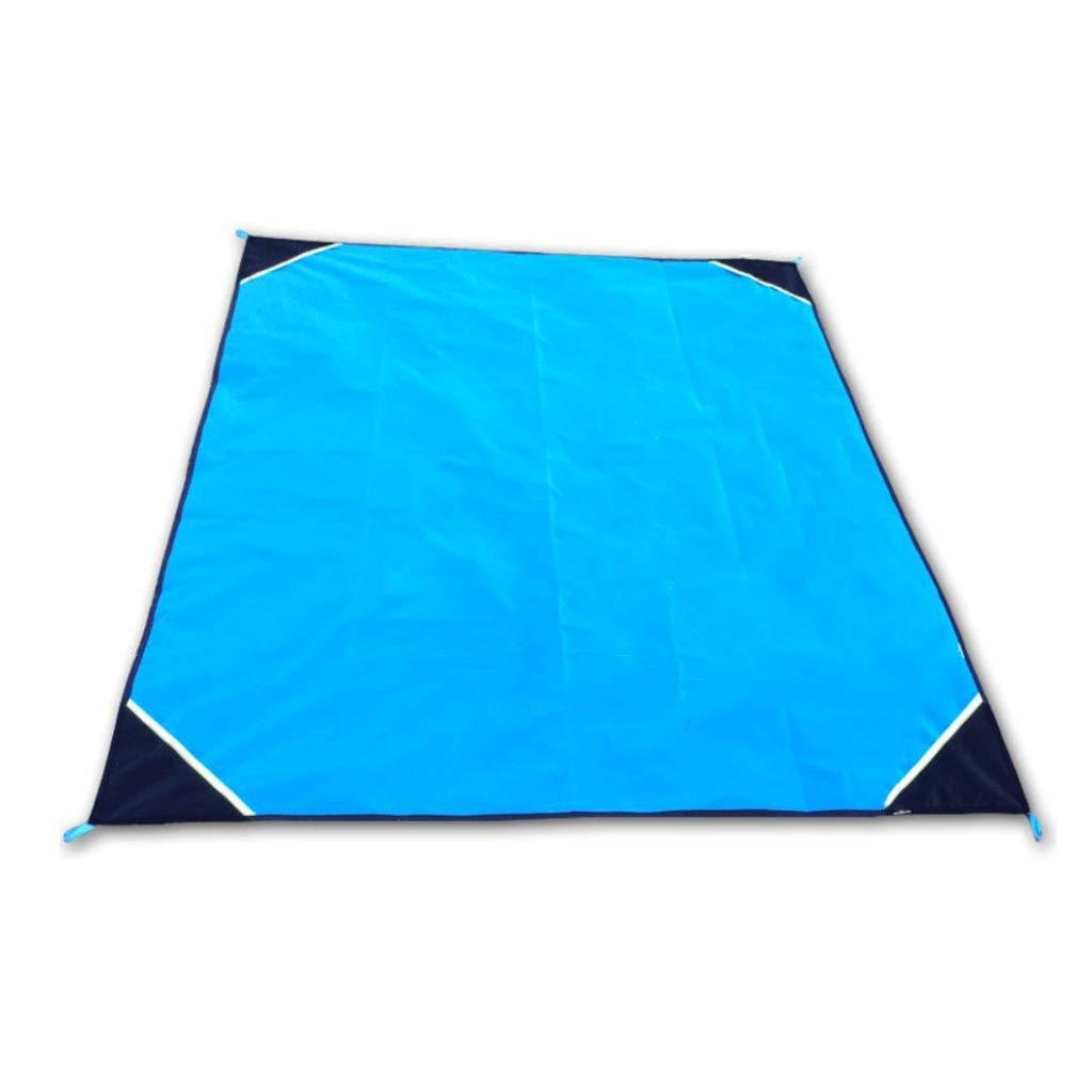 Moistureproof Pad, Sleeping Pad Camping Supplies Folding Cushion Pocket Picnic Mat Waterproof Moisture Insulation (Color : A)