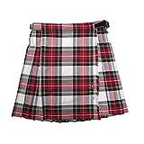 Glen Appin New Girls Pleated Black Watch Tartan Kilt Skirt Age 8