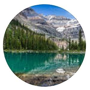 alfombrilla de ratón Lake O`Hara Panorama - ronda - 20cm
