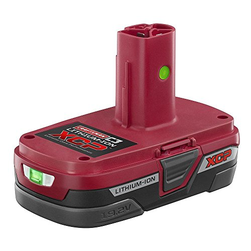 Drill Compact Craftsman - Craftsman C3 19.2-Volt XCP Compact Lithium-Ion Battery Pack