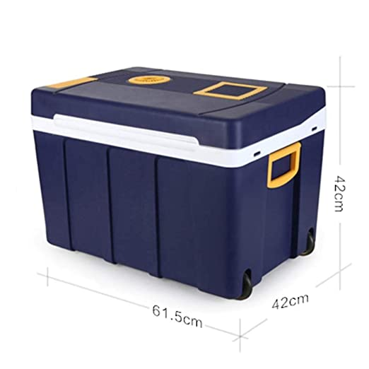 FQY-BX Mini Nevera Refrigerador Coche 50L Azul Oscuro 12V Coche ...