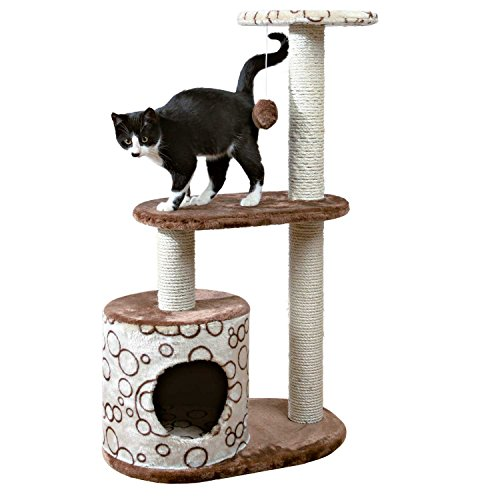 TRIXIE Pet Products Casta Cat Tree, Brown/Beige