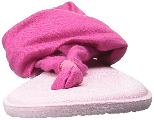 Flop Yoga Flip Light Kids Fuchsia Sling Pink Burst Sanuk fxXgAnRn